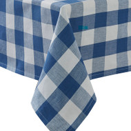 WICKLOW CHECK TABLECLOTH 54X54 CHINA BLUE