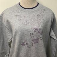 Butterflies & Lav Swirl Sweatshirt