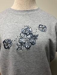 Tie Dye Flower T-Shirt