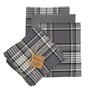 Grey Area Dishtowel & Dishcloth Set