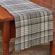 Grey Area Chindi TABLE RUNNER 13X36