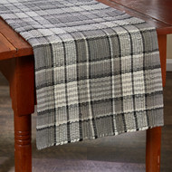 Grey Area Chindi TABLE RUNNER 13X54