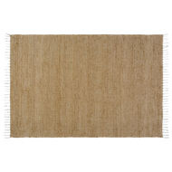 Burlap Natural Chindi/Rag Rug 48x72