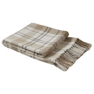 IN THE MEADOW PLAID THROW 50X60