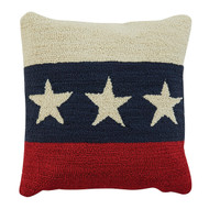 "AMERICANA STAR PILLOW 18"" - POLY INSERT"