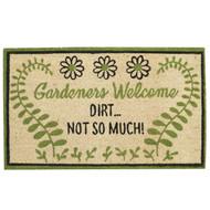 GARDENERS WELCOME DOORMAT