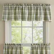 TIME IN A GARDEN VALANCE 72X14