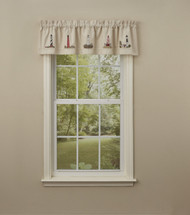 LIGHTHOUSE Embroidered Lined Valance