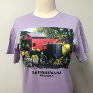 Going Home w Shipshewana Namedrop T-Shirt