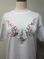 Coral Floral T-Shirt