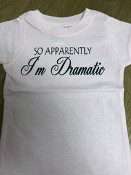 Apparently I'm Dramatic Youth Tee