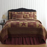 Ninepatch Star Twin Quilt 86x68