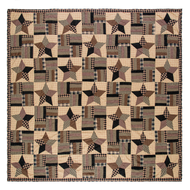 Bingham Star Luxury King Quilt 105x120