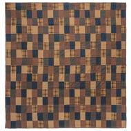 Patriotic Patch Luxury King Quilt 105x120