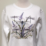 Dragonfly Lace Sweatshirt