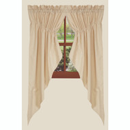 "Osenburg 72"" x 63"" (2 pcs) Cream"