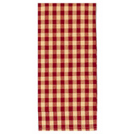 "Heritage House Check 18"" x 28"" Barn Red - Nutmeg"