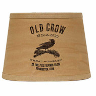 "Old Crow 10"" Tapered Drum Tea Dyed"