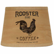 """Rooster Brand 10"""" Tapered Drum Tea Dyed"""