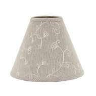 """Candlewicking 6"""" Candle Clip Taupe"""