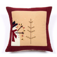 """Trim a Tree 14""""x14:"""" Barn Red - Nutmeg"""