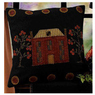 "Primitive Manor 14"" x 14"" Black"