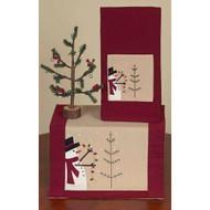 """Trim a Tree 14"""" x 36"""" Barn Red - Nutmeg"""