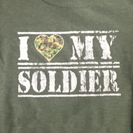 I Heart Soldier T-Shirt