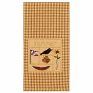 """Summer Sampler 18"""" x 28"""" Mustard - Nutmeg"""