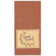 "Special Friends  18"" x 28"" Barn Red - Nutmeg"