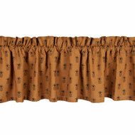 "Pineapple Town 72"" x 15.5"" Mocha - Black"