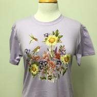 Sunflowers & Hummer T-Shirt