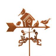 Birdhouse Weathervane