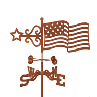Flag Weathervane