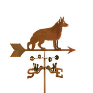 German Shepherd Weathervane