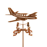 Twin (Airplane) Weathervane