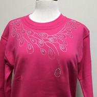 Pink Teardrop Sweatshirt