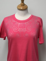 AB Swirl Scoop Neck Tee