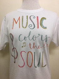 Music Colors the Soul T-Shirt