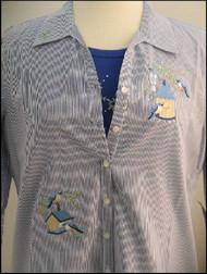 Birdhouses 3/4 Sleeve Shirt