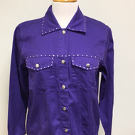 Just My Style Jacket  - Purple
