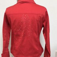 All Over Jacket - Tomato Red