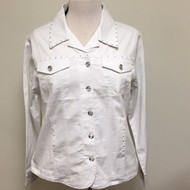 Just My Style Jacket  - White