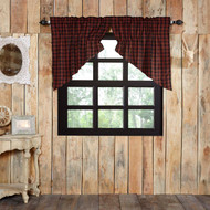 Cumberland Prairie Swag Lined Set of 2 36x36x18