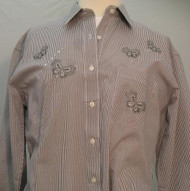 Silver Butterfly L/S Shirt