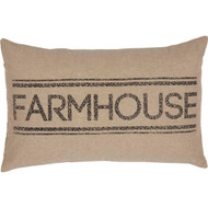 Sawyer Mill Farmhouse Pillow 14x22
