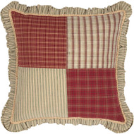 Prairie Winds Patchwork Pillow 18x18