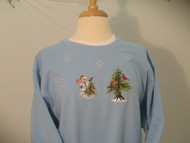Snowman & Cardinal Sweatshirt