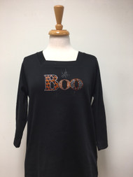 BOO 3/4 Sleeve Top