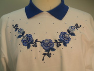 Royal Rose Sweatshirt